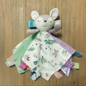 Taggies | Flora Fawn Lovey Security Blanket